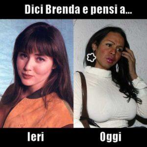 Brenda ieri e oggi