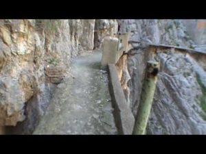 El camino del Rey, El Chorro, Andalusia, Spagna
