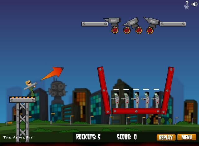 Flaming Zoombooka flash game