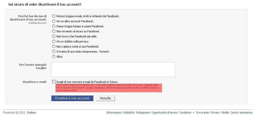 Come Disattivare un Account Facebook: 6 Passaggi