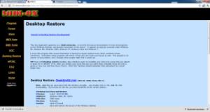 Midiox Desktop Restore per Windows
