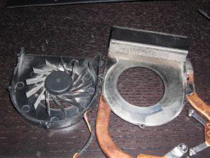 Ventola Dell Xps M1530 sporca di polvere