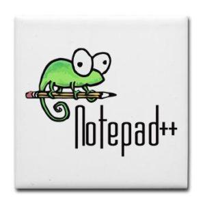 Il logo di Notepad++